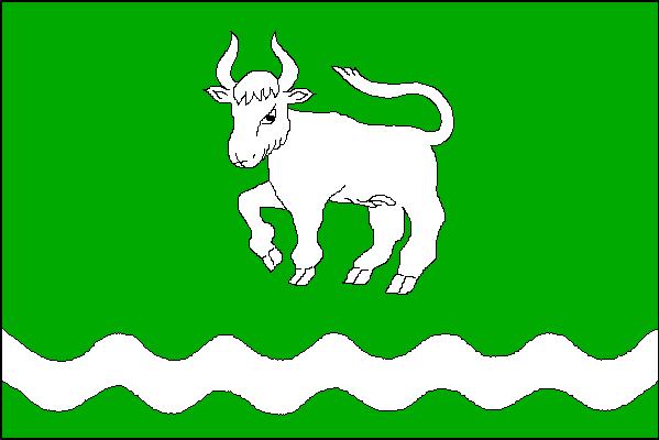 Vyšní Lhoty - vlajka