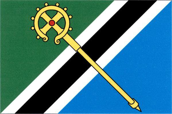 Vysoká nad Labem - vlajka