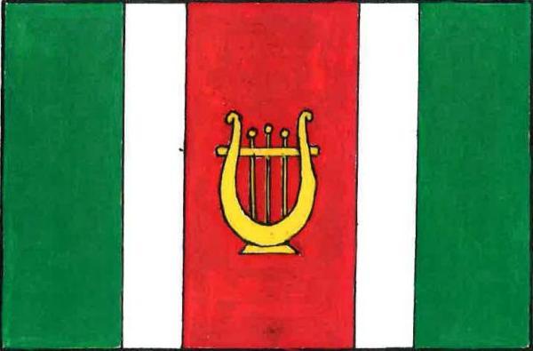 Vysoká u Příbramě - vlajka