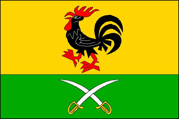 Vysokov - vlajka