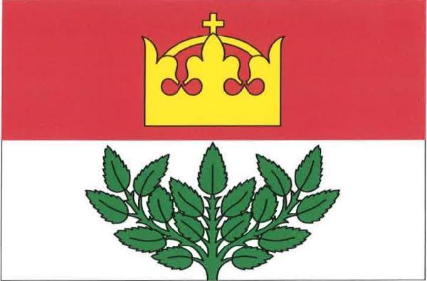 Zachrašťany - vlajka