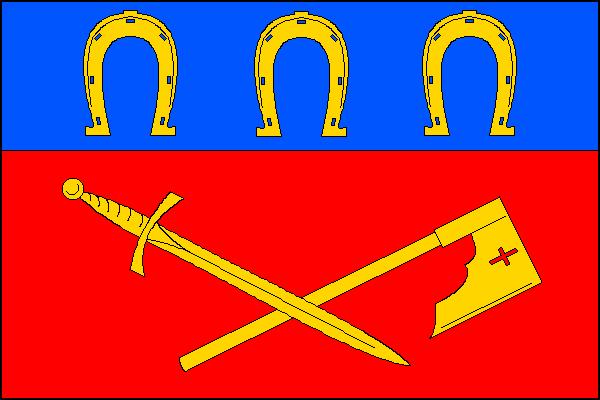 Záhornice - vlajka