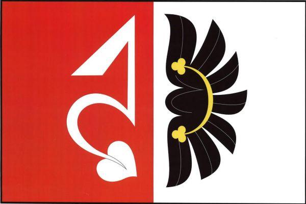 Zahrádka - vlajka