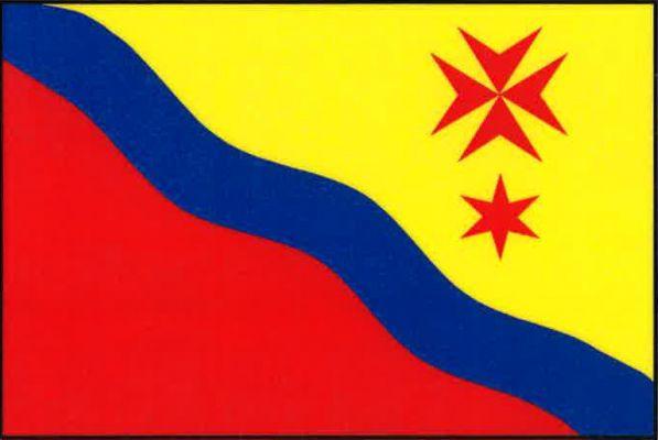 Zájezd - vlajka