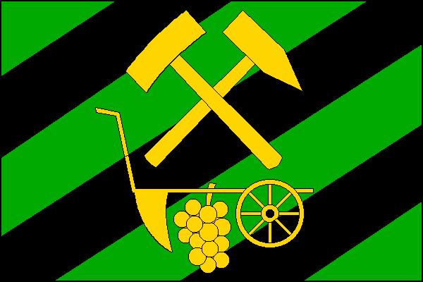 Zbýšov - vlajka