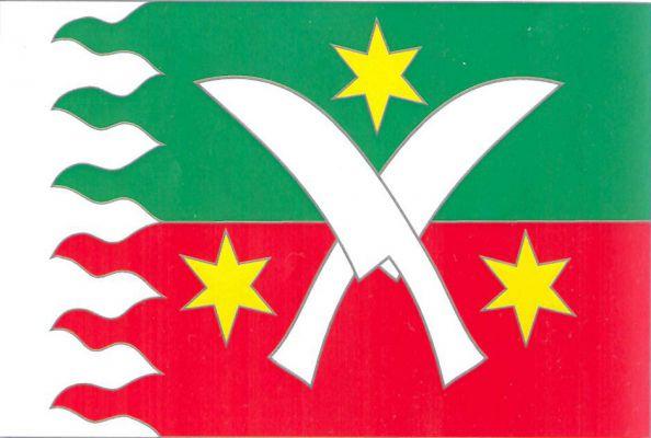 Žďár - vlajka