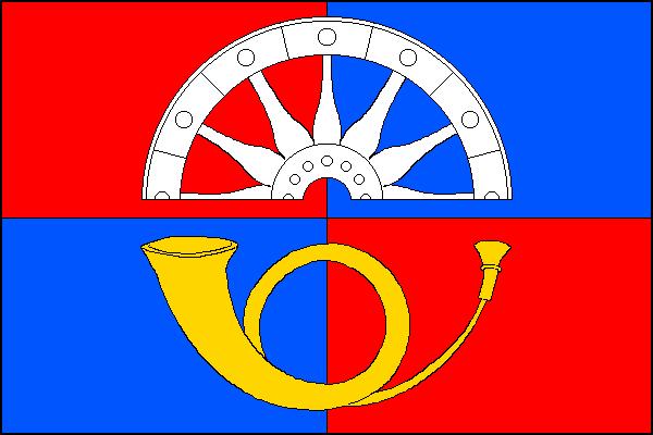 Zdiby - vlajka