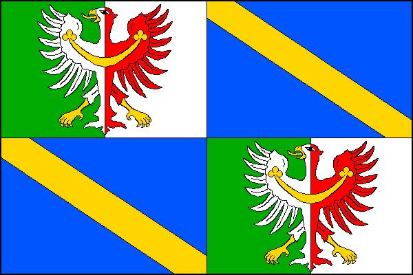 Zdíkov - vlajka