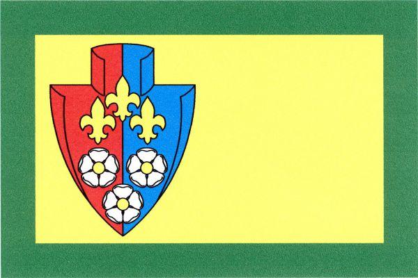 Želízy - vlajka