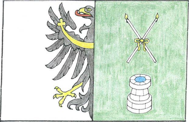 Žerotín - vlajka