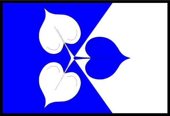 Zvole - vlajka