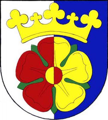 Hrdějovice - znak
