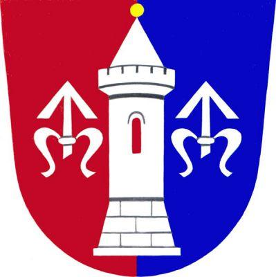 Hustopeče nad Bečvou - znak