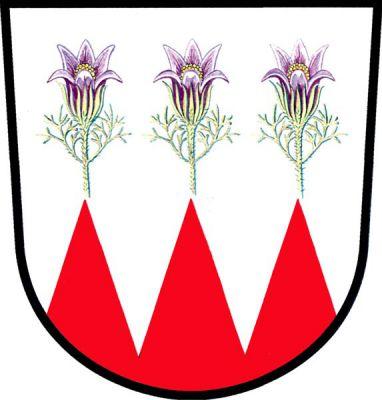 Krčmaň - znak