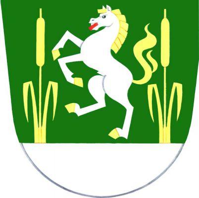Lačnov - znak
