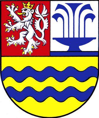Lázně Toušeň - znak