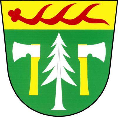 Oldřichov v Hájích - znak