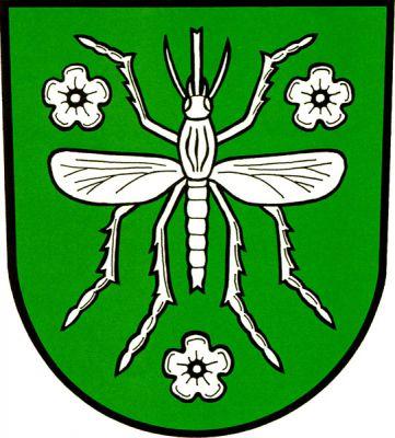 Komárov - znak