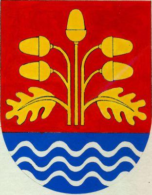 Ostrožská Nová Ves - znak