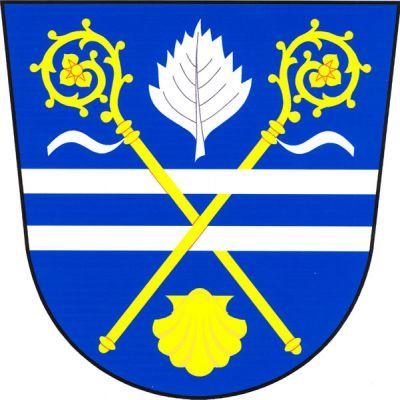 Panenské Břežany - znak