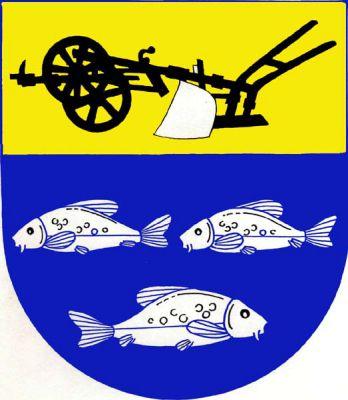 Rybitví - znak