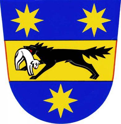Vlčková - znak